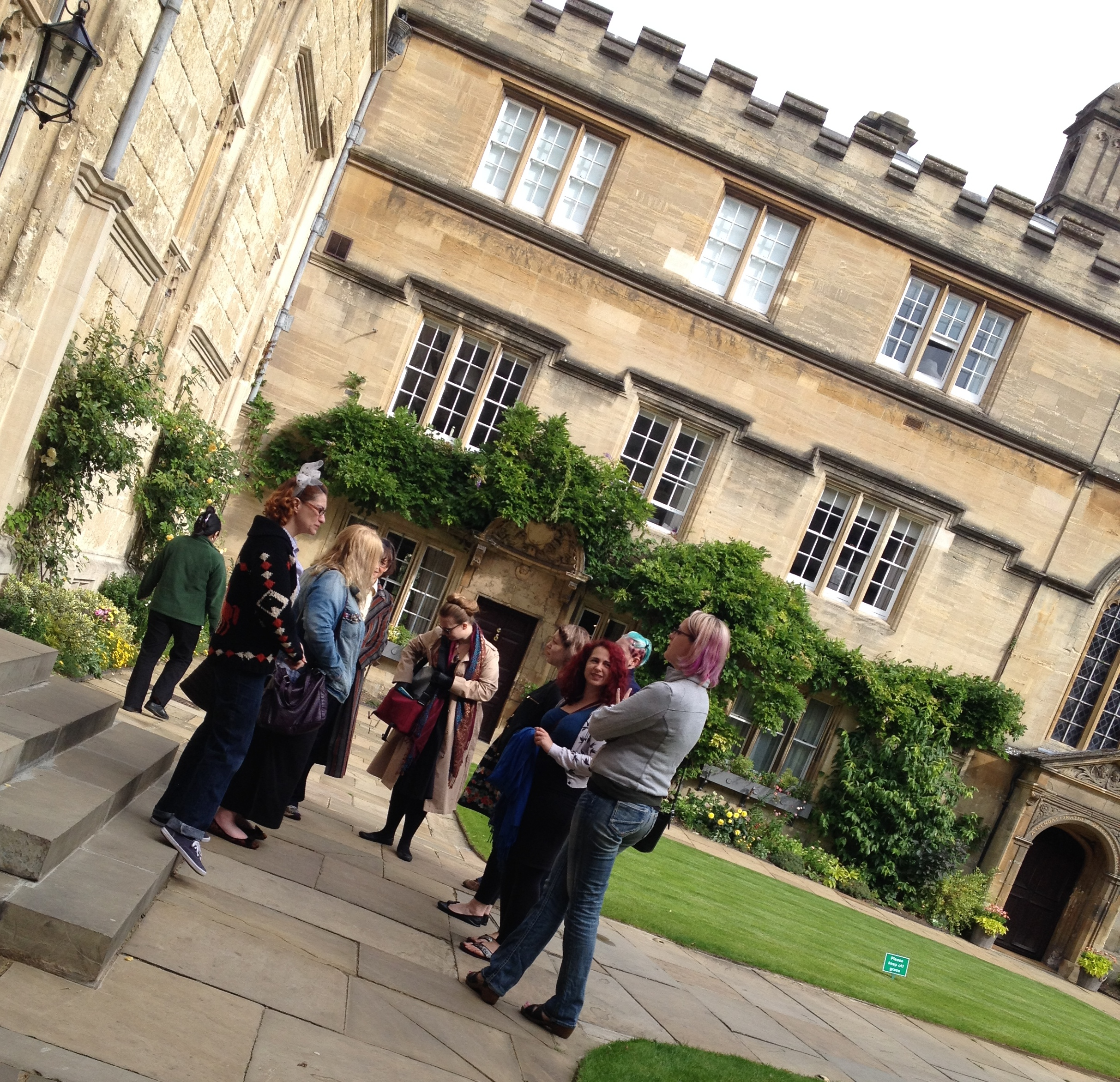 Corset Makers from around the world gather at Jesus College Oxford over August Bank Holiday.