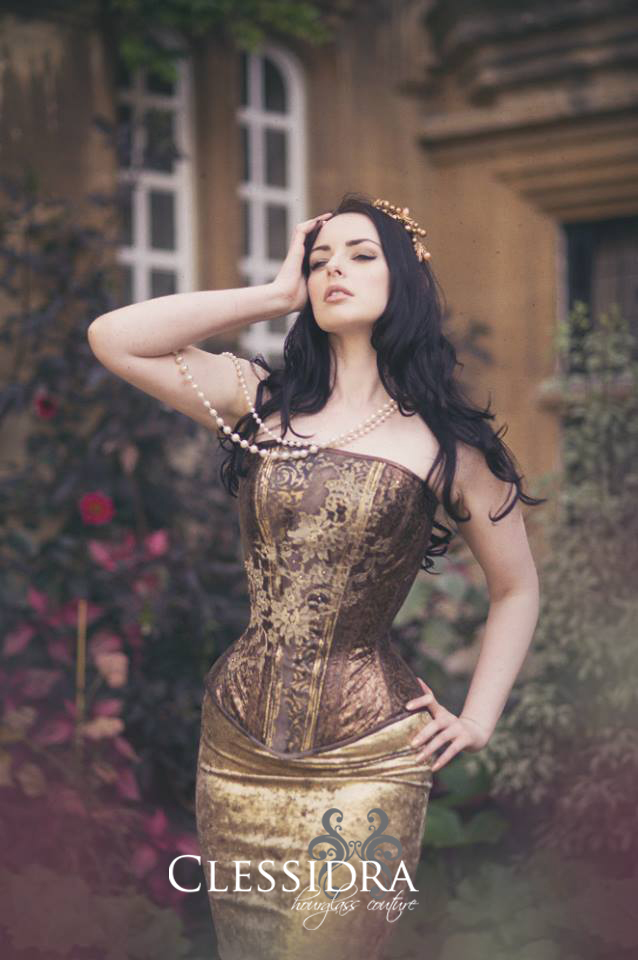 Corset by Clessidra, UK