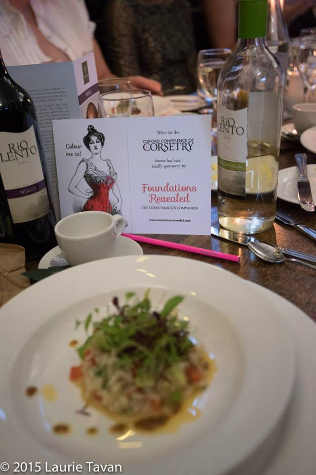 Foundations Revealed kindly sponsored the wine at dinner, as well as supplying a lovely branded mug for the welcome bag. Image copyright Laurie Tavan 2015