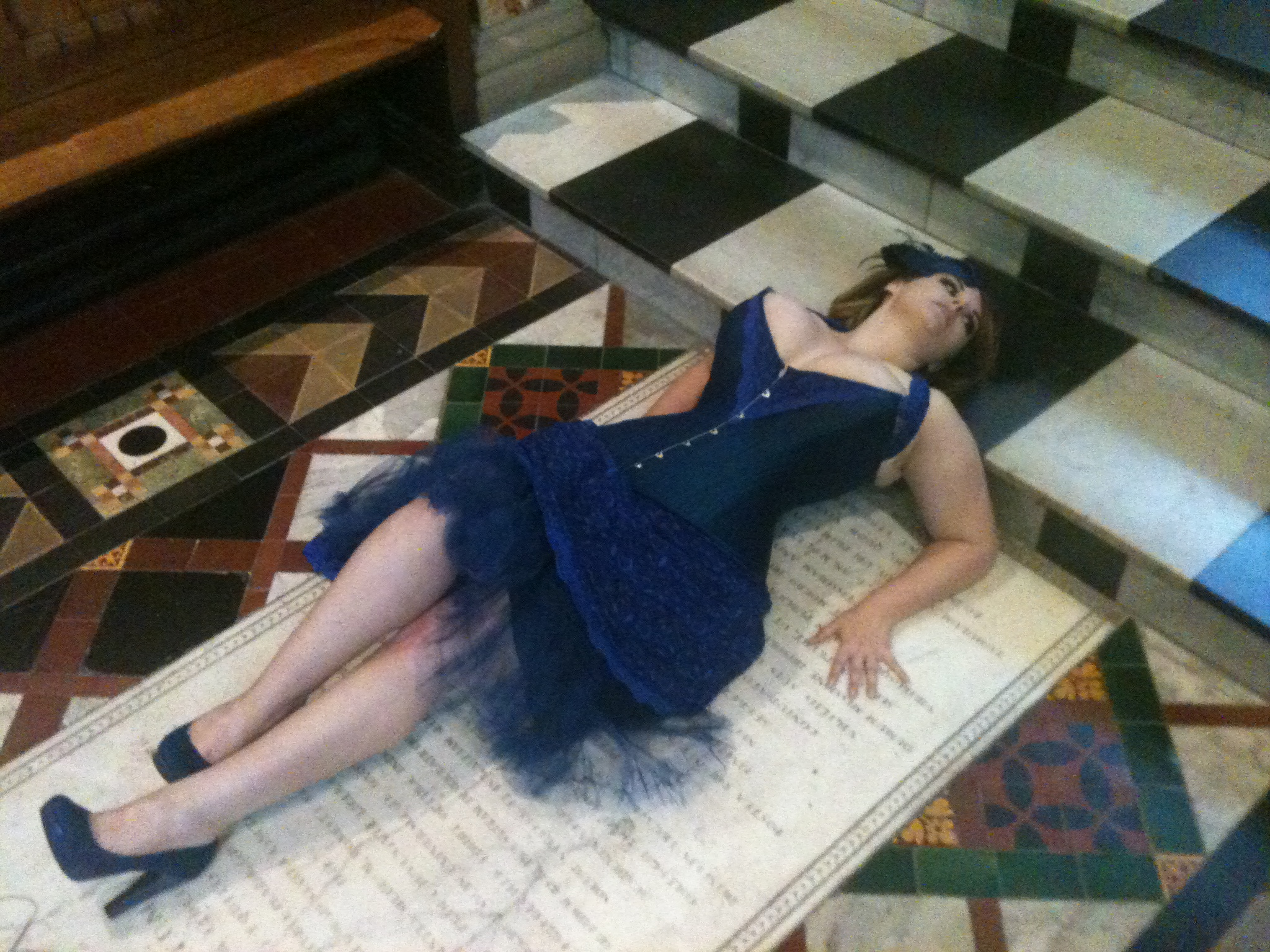 Flat out in the Chapel. Pic Jennifer Garside