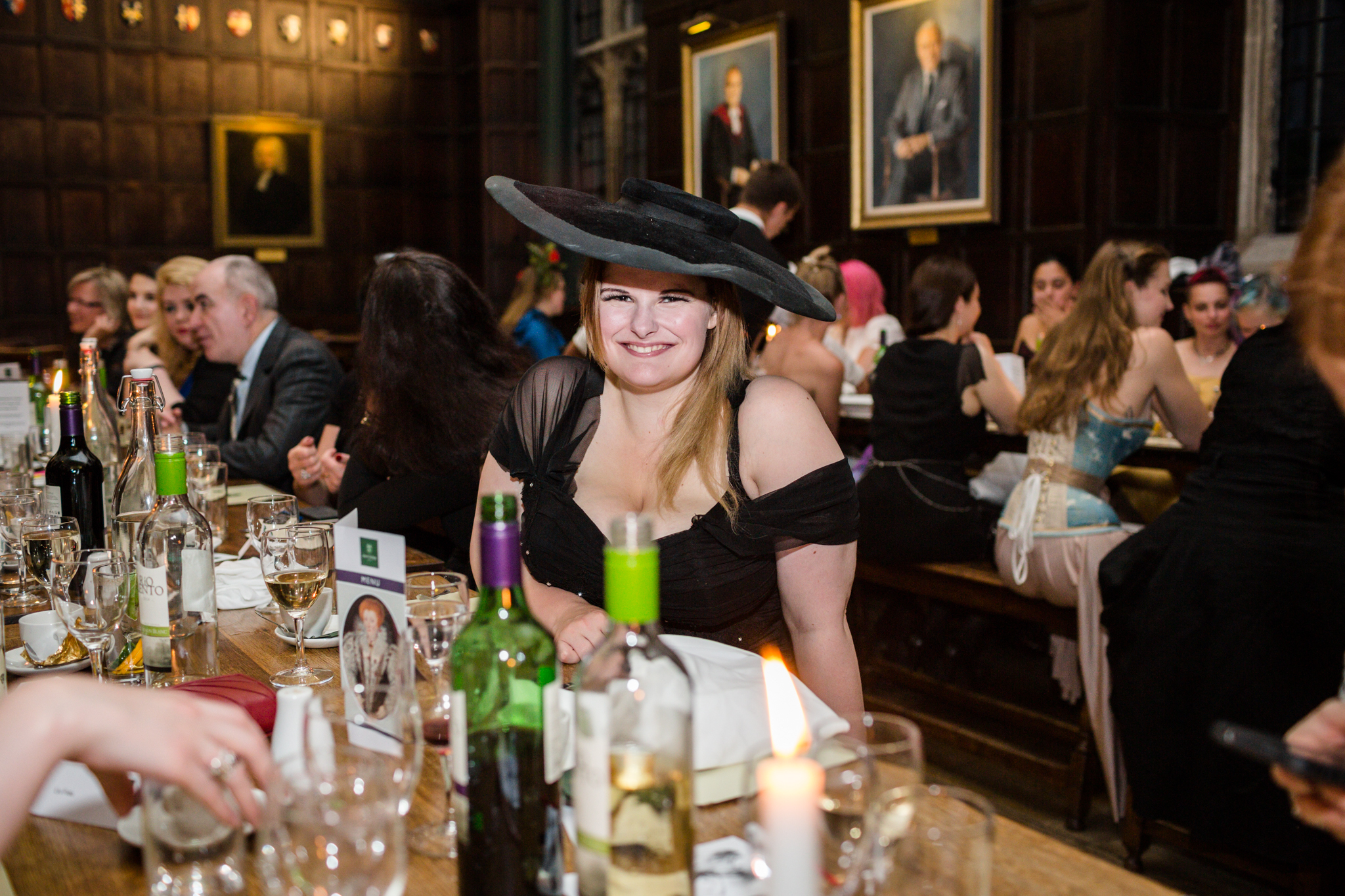 Evie at the OCOC'15 Dinner. Pic Chris Murray
