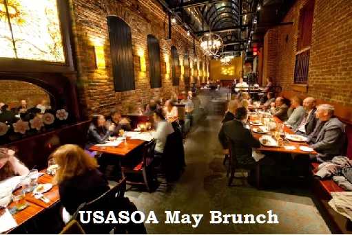 Join us at the Columbia Firehouse for our May Brunch on Sunday, May 14th at 11 am. Learn more about USASOA and other participating Veteran and Military Organizations.