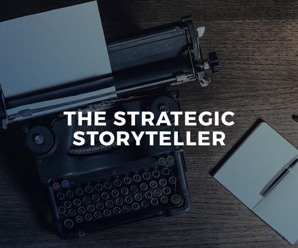 The Strategic Storyteller — group workshop