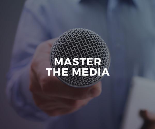 Master The Media — group workshop