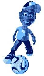 Soccer League Kid