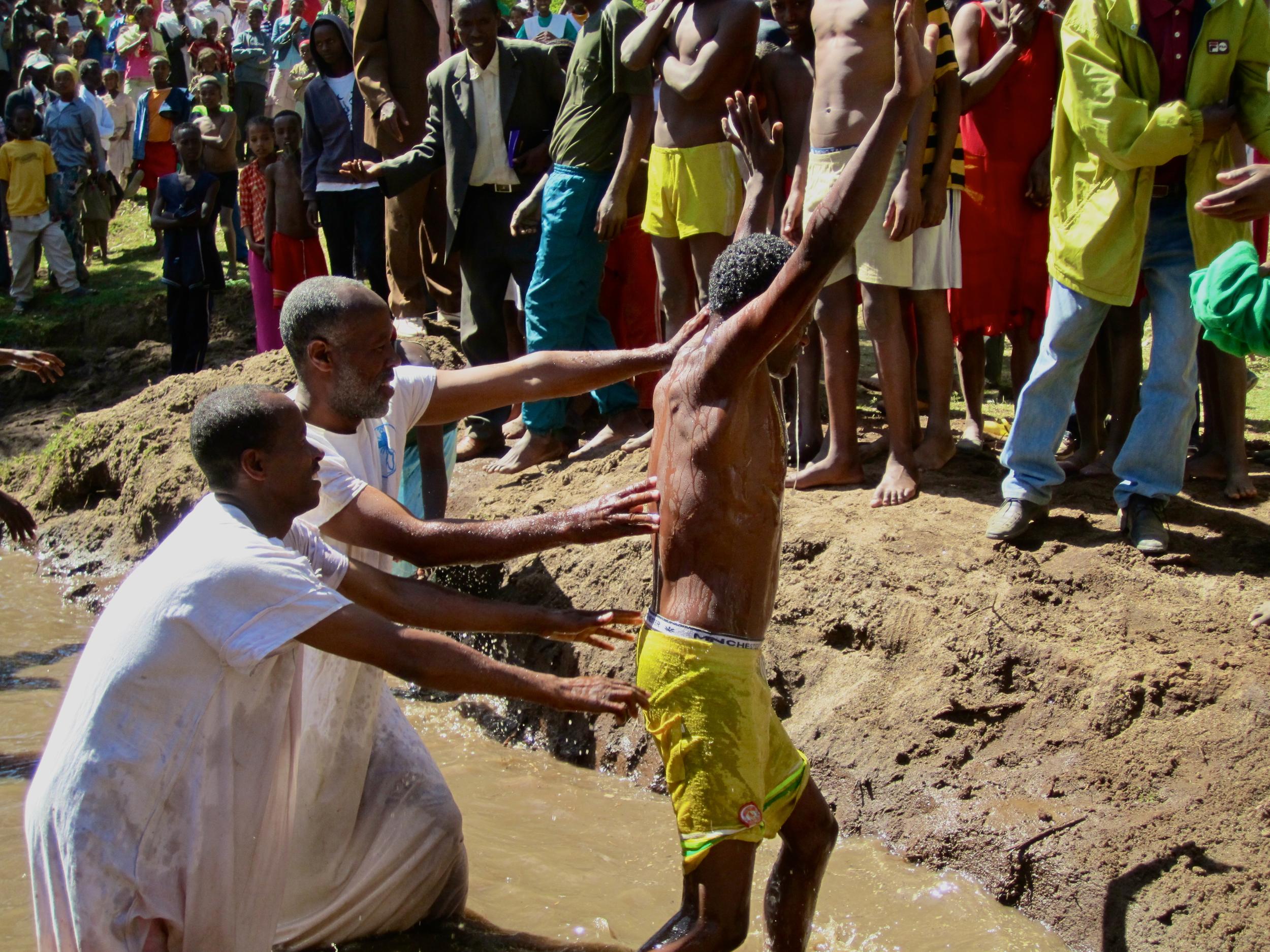 Baptism in Ethiopia