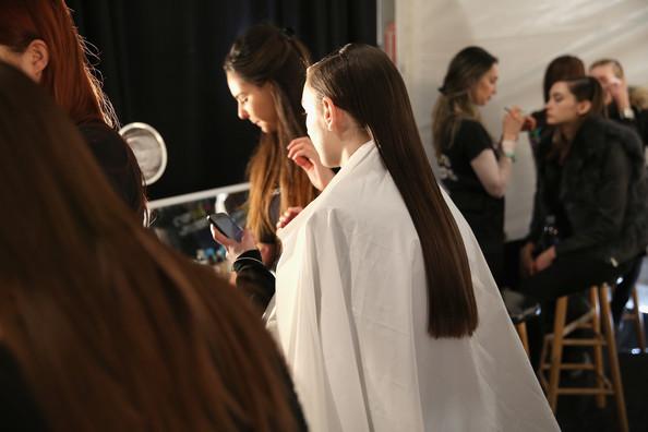 Backstage Lie Sang Bong @ Mercedes Benz Fashion Week, credit: Zimbio