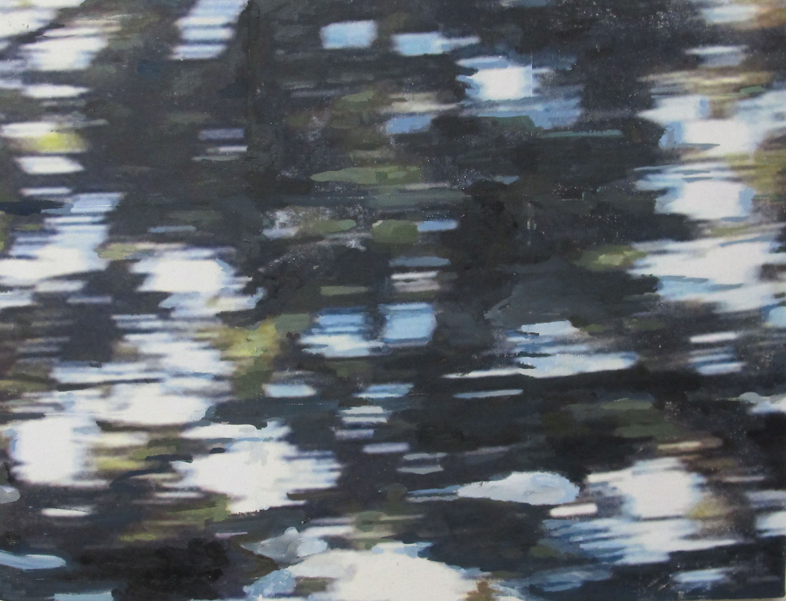 Alex Schuchard Untitled No. 4, 2013 Oil and wax on canvas over panel 18 x 24 inches