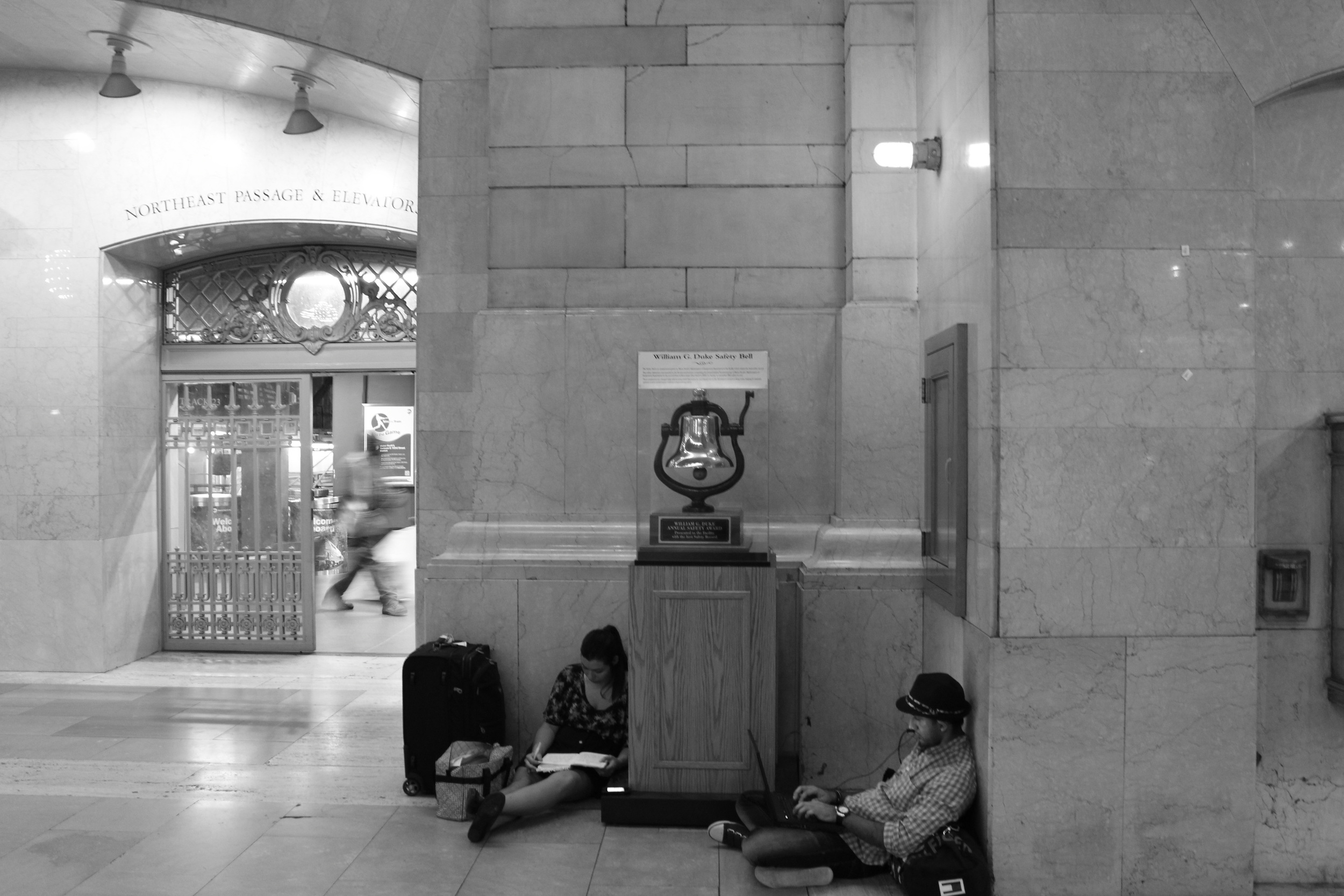 Robert Miller   Grand Central Waiting Room,  2012  c-print  24 x 34 inches