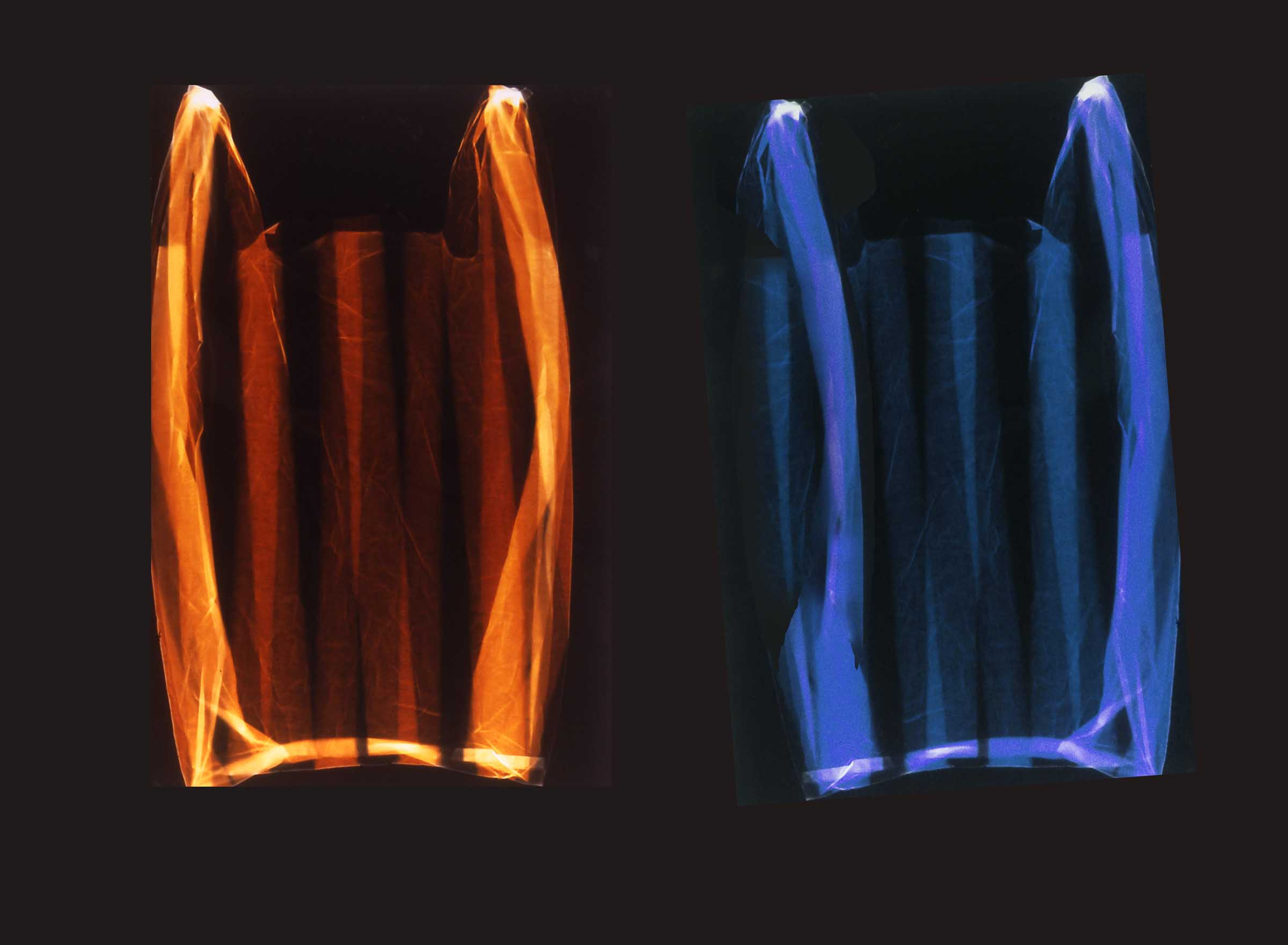 Vaughan Judge  Fire and Ice , 2000 photogram 30 x 40 inches