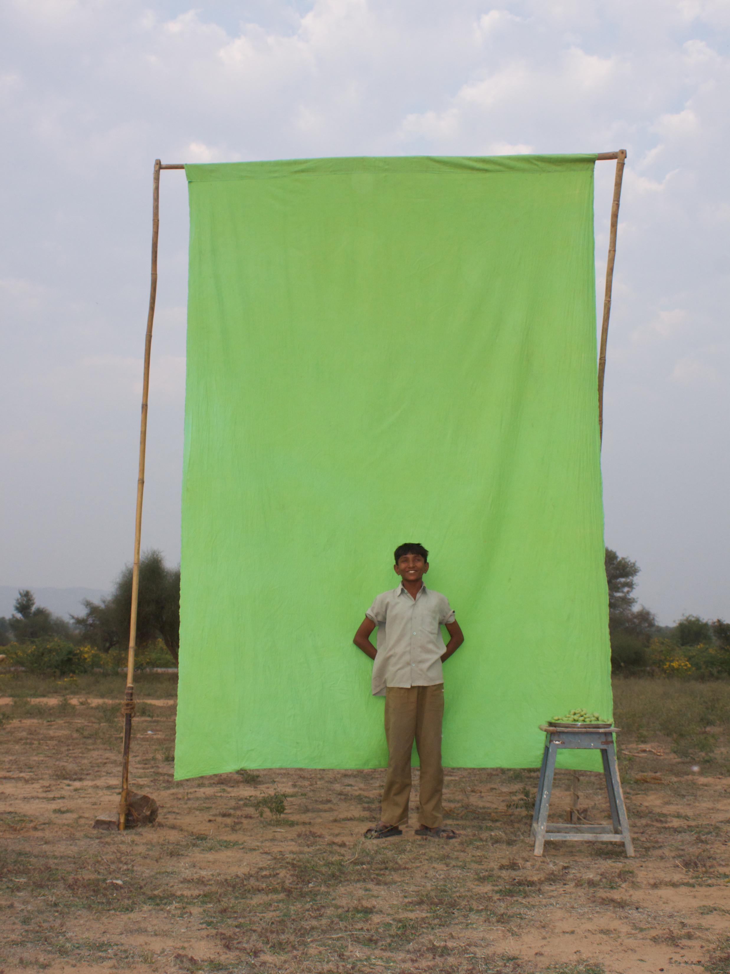 Benjamin Faga   Chroma Green No. 1    C-print    30 x 40 inches