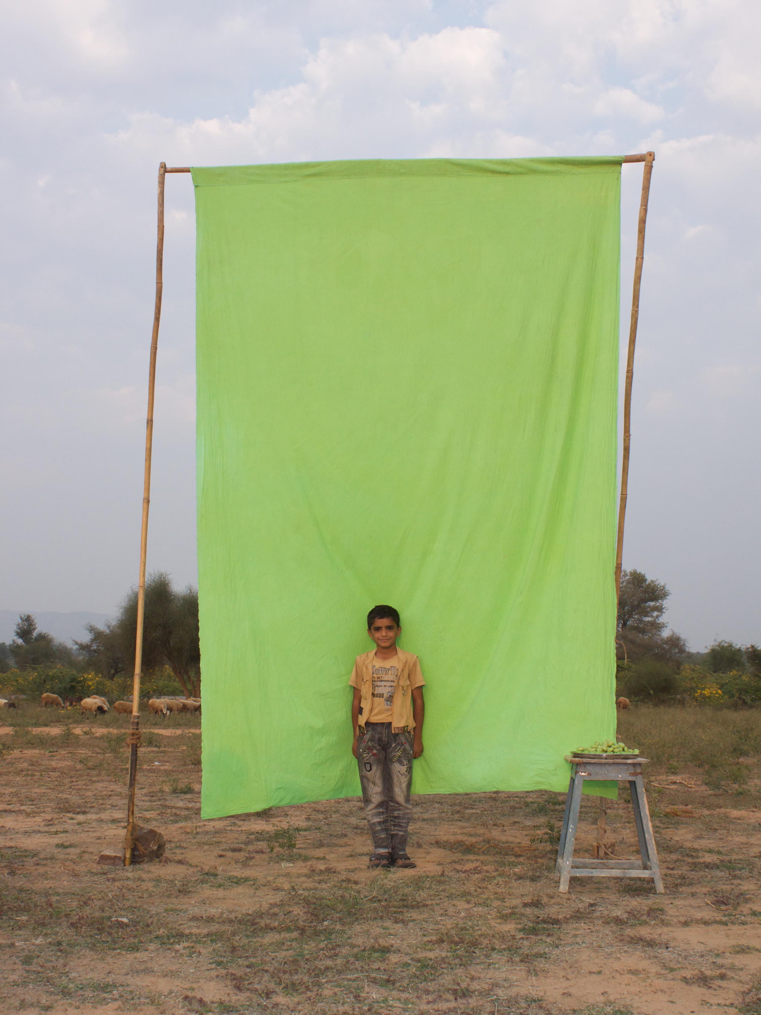 Benjamin Faga   Chroma Green No. 3    C-print    30 x 40 inches