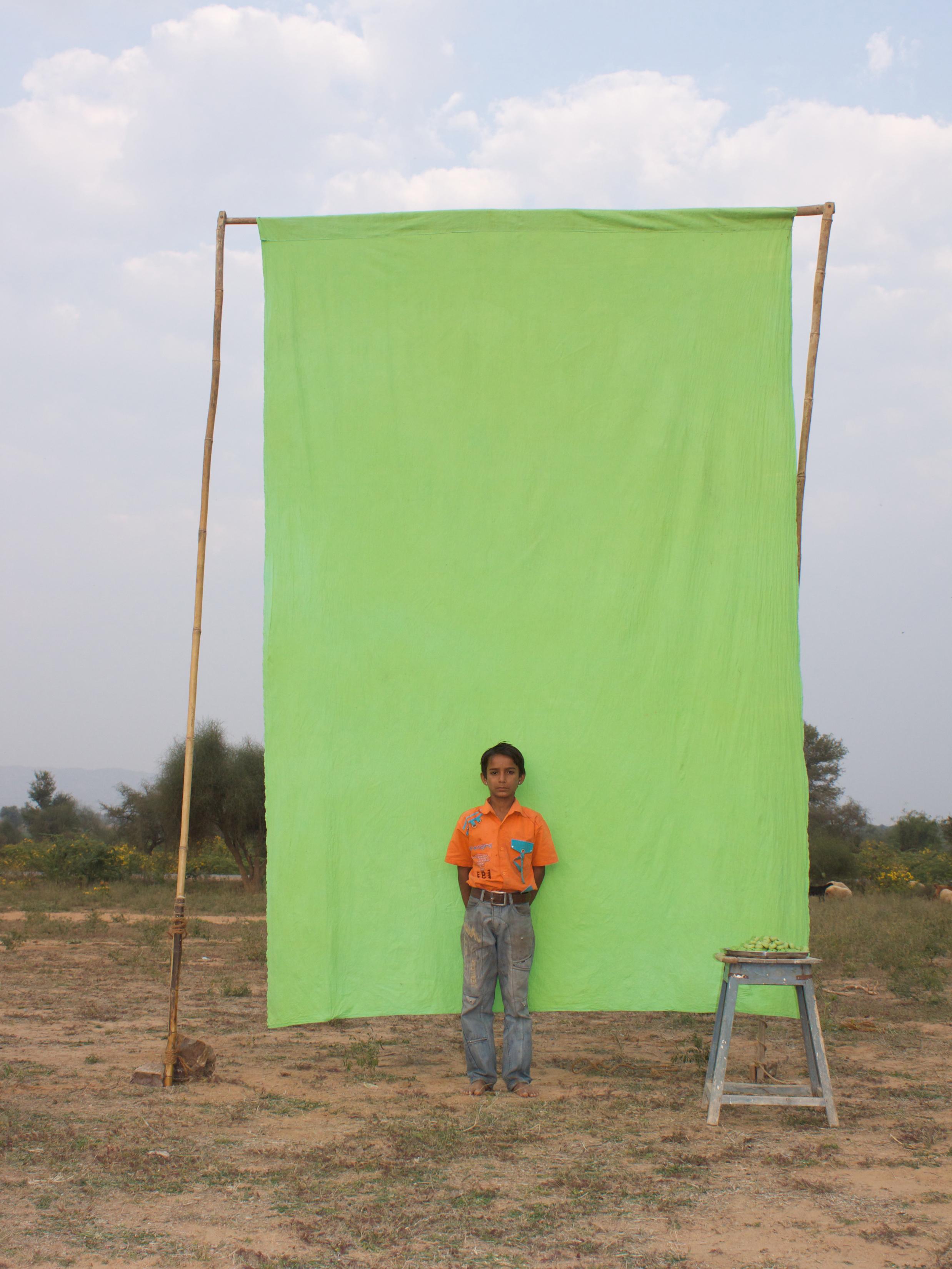 Benjamin Faga   Chroma Green No. 12    C-print    30 x 40 inches