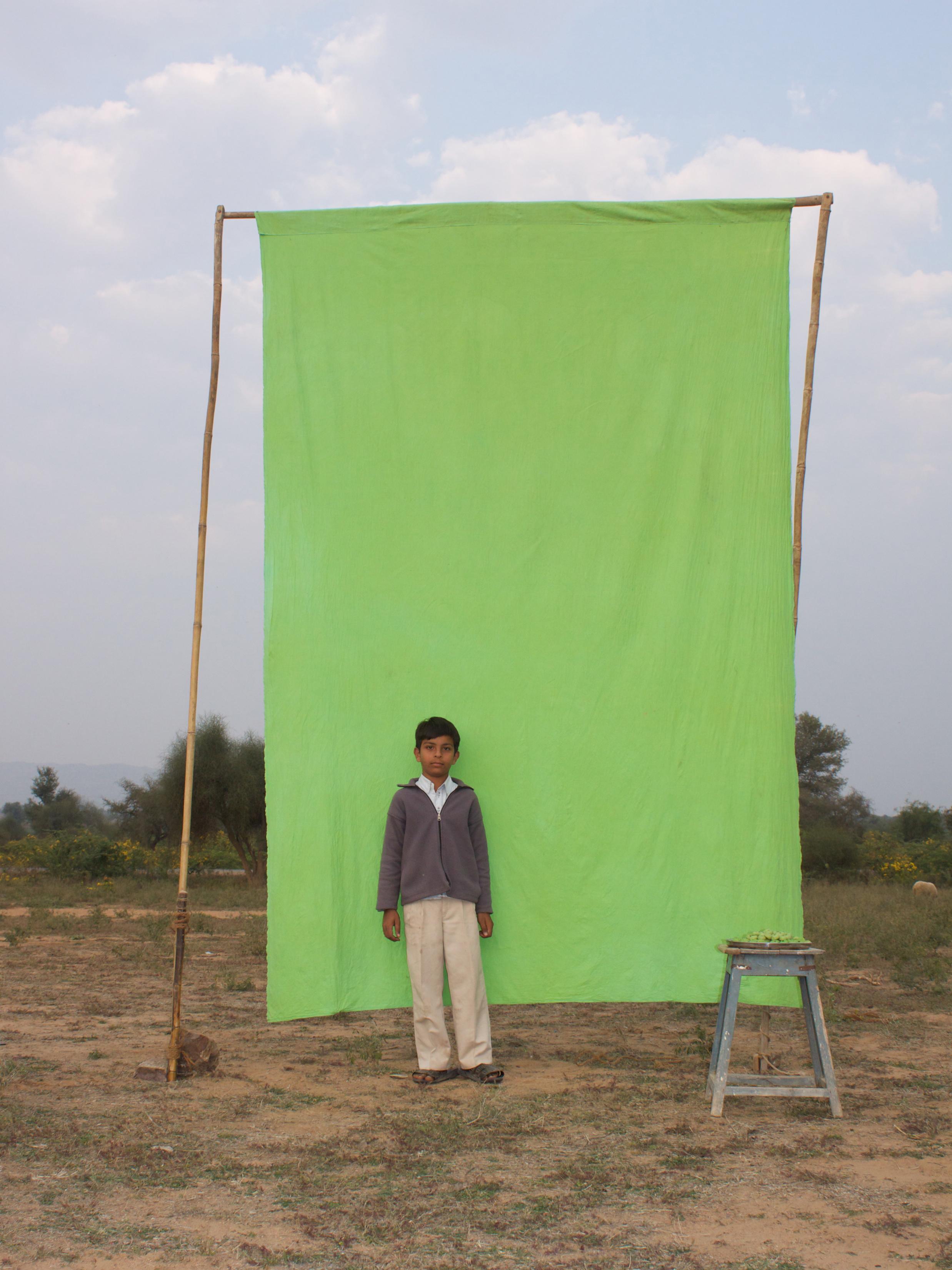 Benjamin Faga    Chroma Green No. 19    C-print    30 x 40 inches