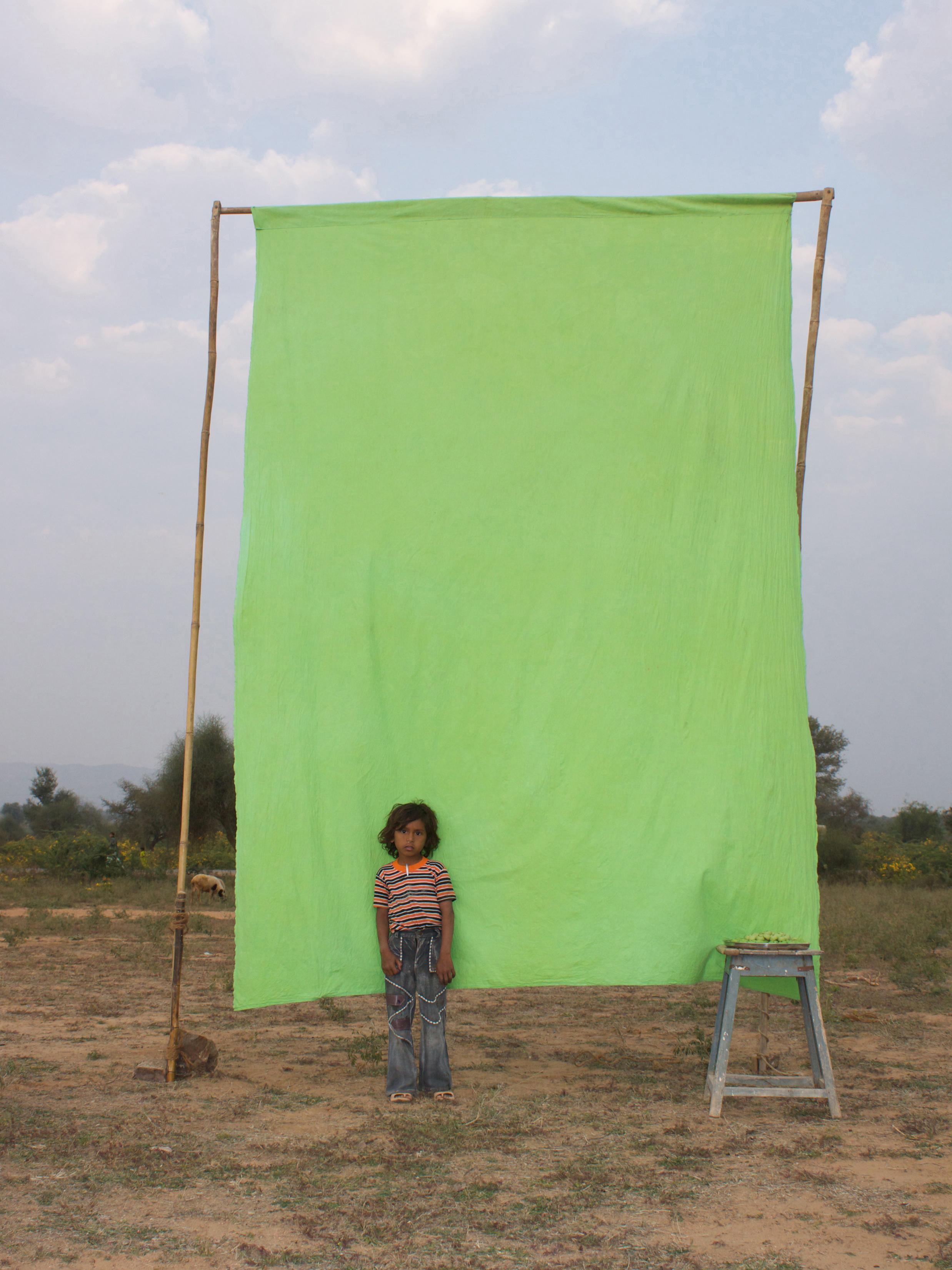 Benjamin Faga   Chroma Green No. 16    C-print    30 x 40 inches