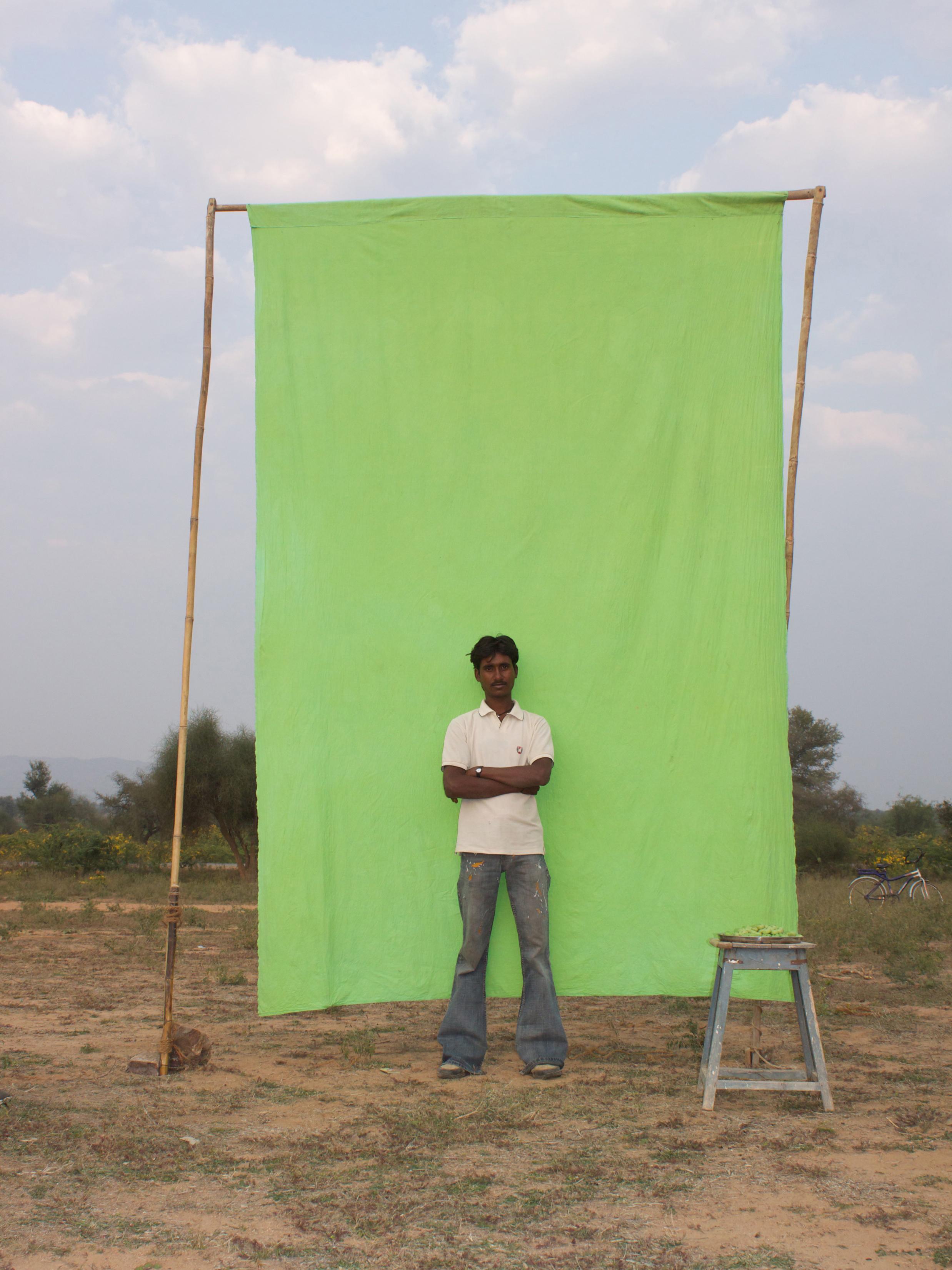 Benjamin Faga   Chroma Green No. 29    C-print    30 x 40 inches