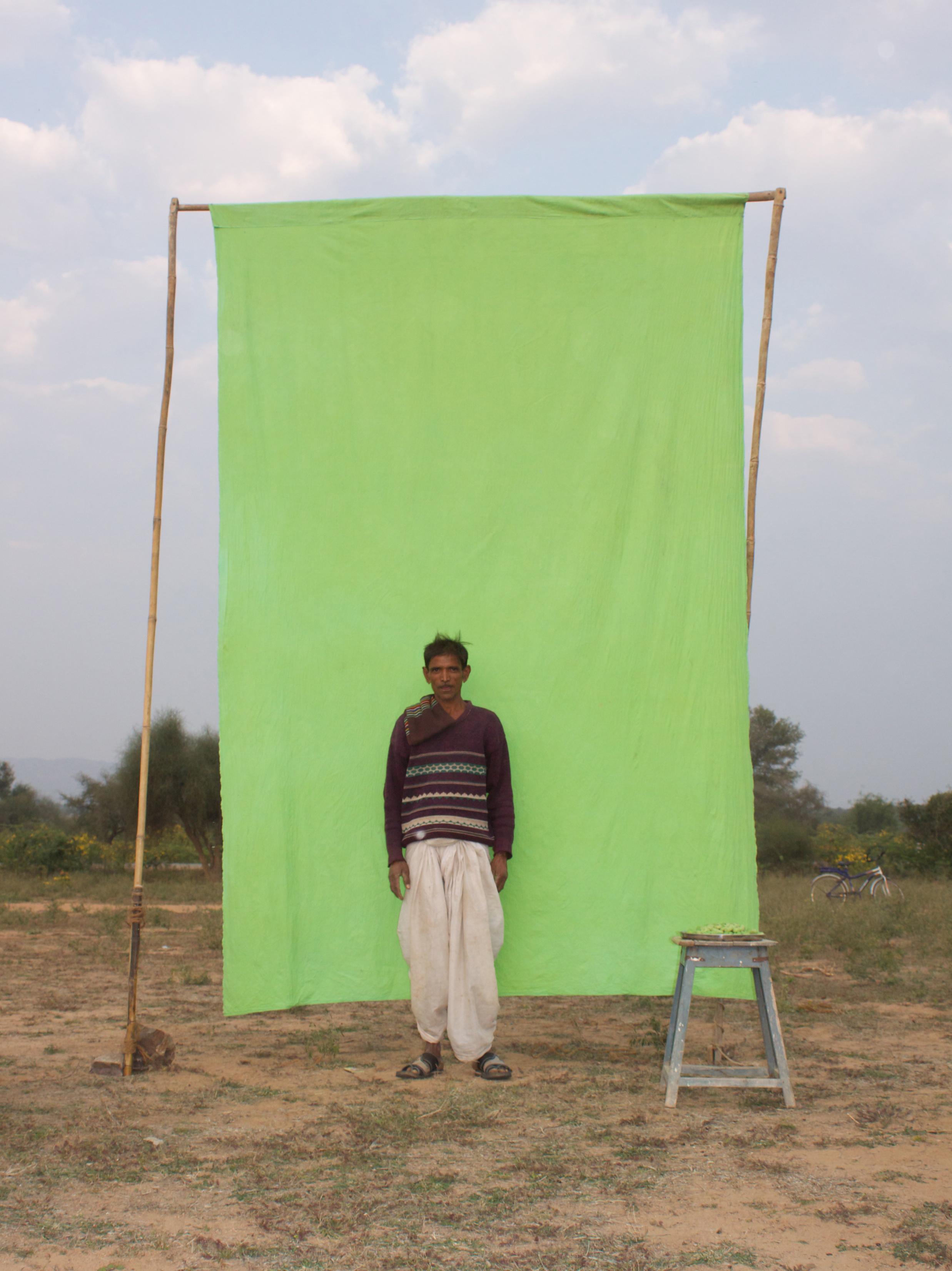 Benjamin Faga   Chroma Green No. 30    C-print    30 x 40 inches