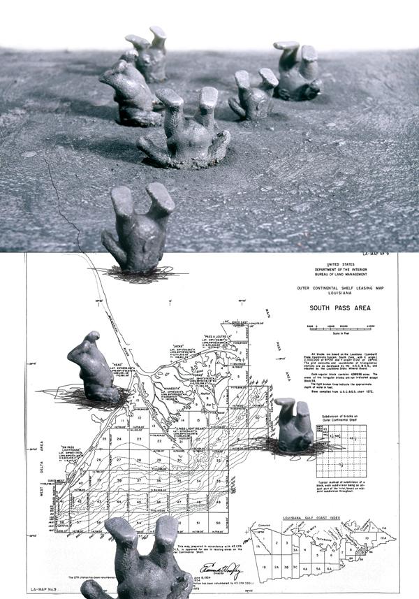 Jennifer Odem     Continental Shift   , 2010    Digital inkjet print, Ed. of 10    19 x 13 inches