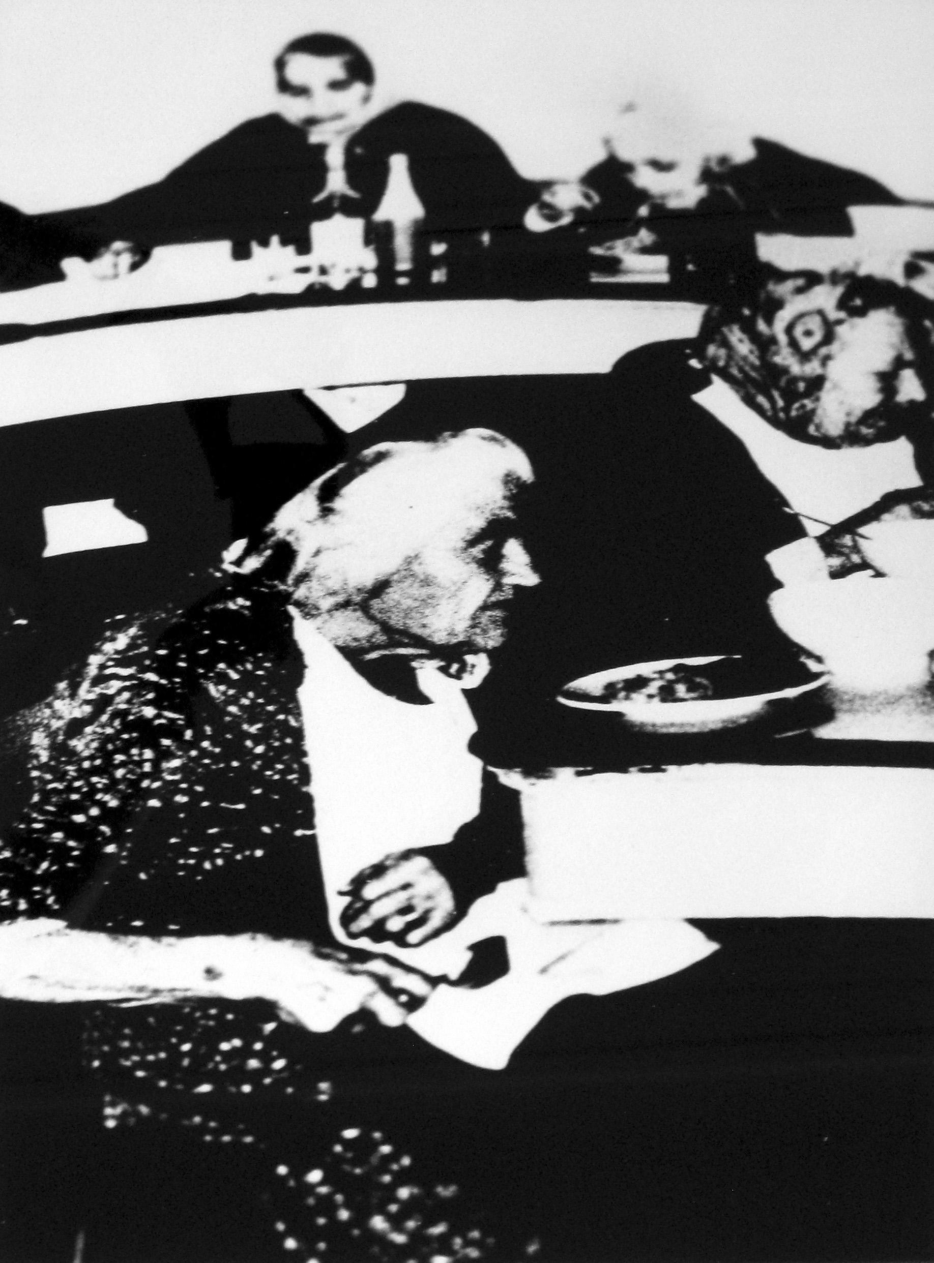 Mario Giacomelli, Italian (b. 1925, d. 2000)     Verra la morte e avra i tuoi occhi,    1966-68    Silver gelatin photograph    15.5 x 1l.5 inches