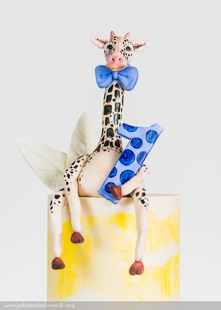 Sugar Giraffe Cake - Sugar Lane Cake Shop