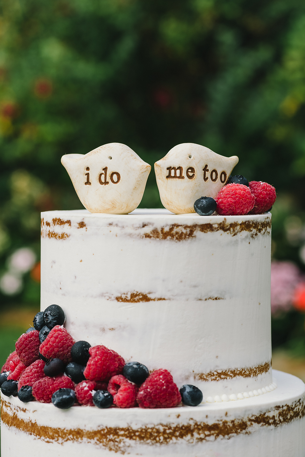 Naked Berry Wedding Cake - Sugar Lane Cake Shop