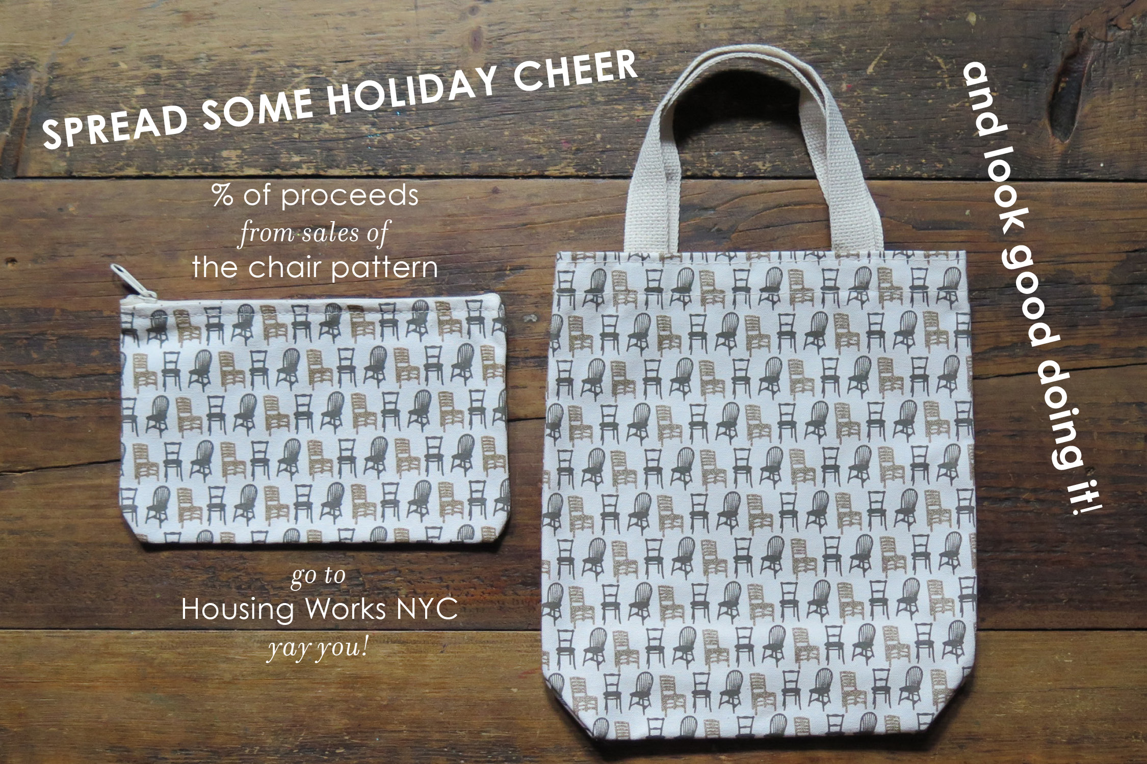 """and not just on """"Giving Tuesday"""" ! every purchase each time! available in the  pouch  and  lady mini"""