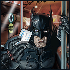 "Mad Magazine  ""Holy Medical Bills, Batman"""