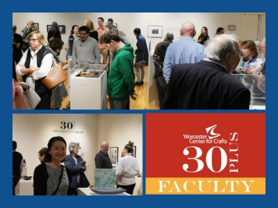 30 plus faculty  May 19 - June 11, 2016 Biennial exhibit of work by 30+ Worcester Center for Crafts Faculty in ceramics, glass, metals and photography. 30 Plus Faculty is dedicated to retiring 30-year faculty member, Judy Daner.   Worcester Center for Crafts  | The Krikorian Gallery | 25 Sagamore Road Worcester MA 01605 | T 508.753.8183