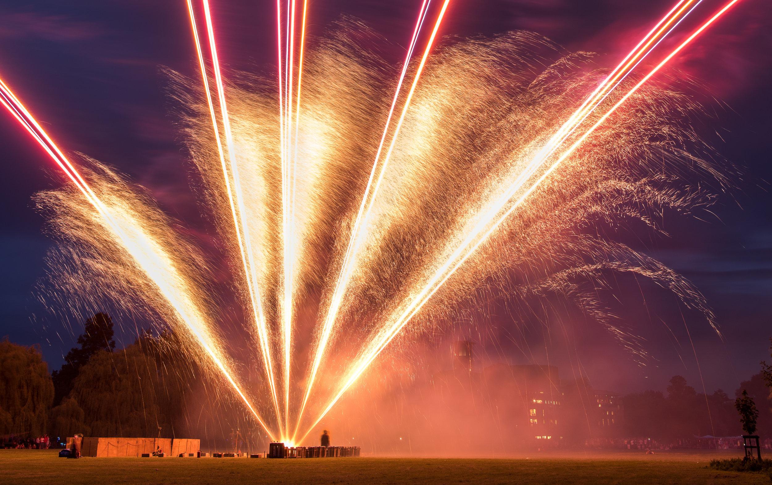 Fireworks at Stratford River Festival