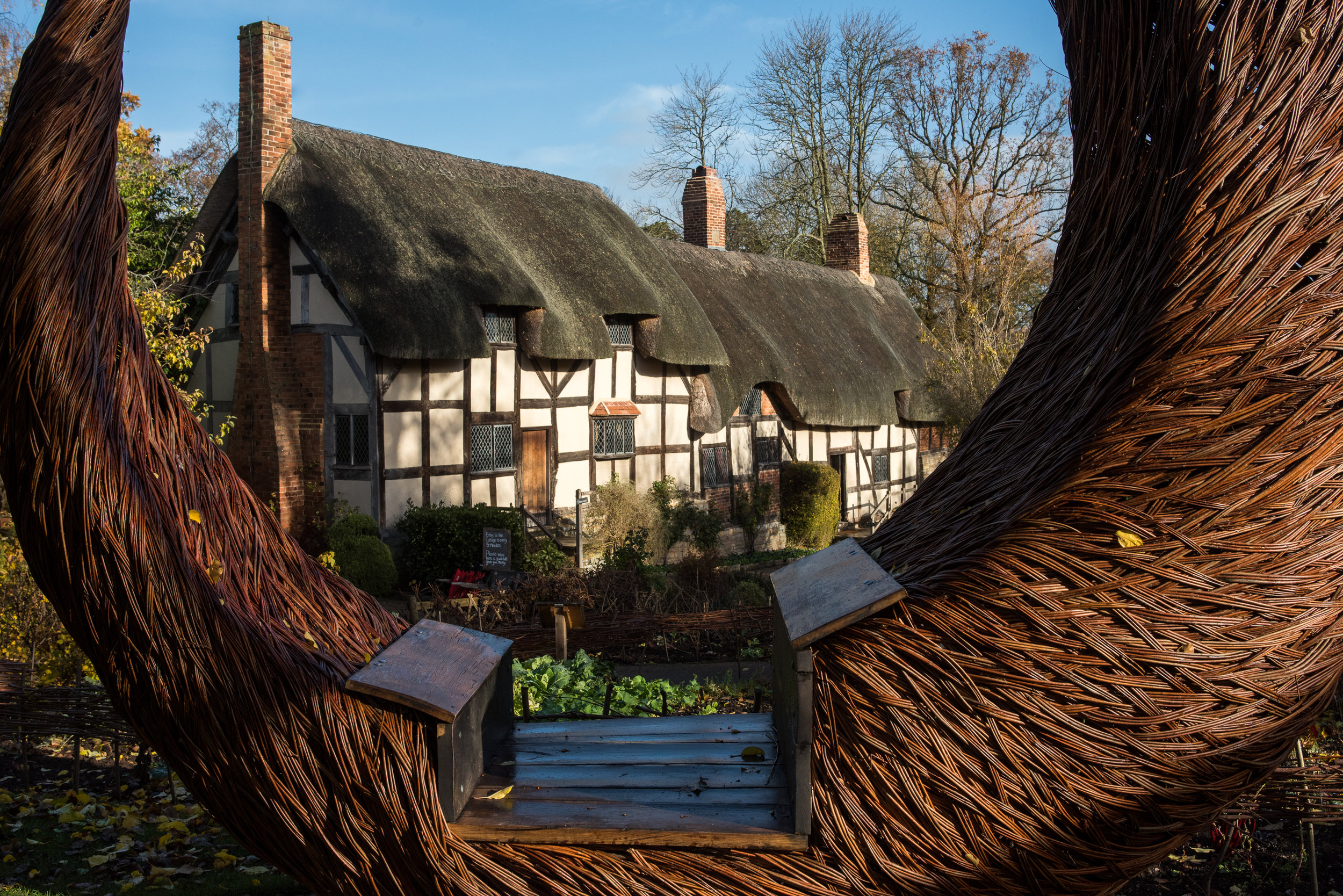 Anne Hathaway's cottage, before she was Shakespeare's wife