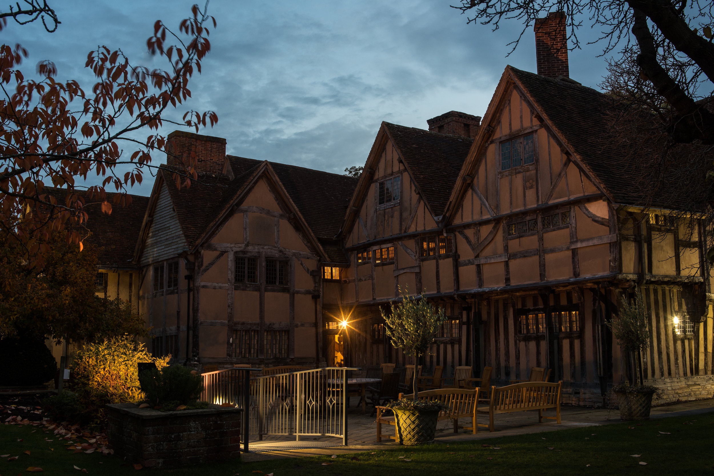 Hall's Croft was a wedding gift from Shakespeare to his daughter Susannah's husband Dr. Hall
