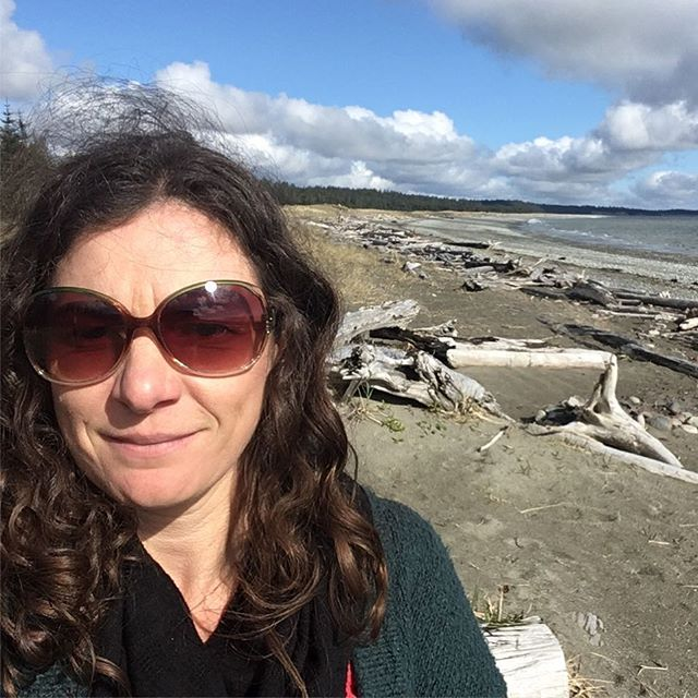 Working on a Sunday is tough! Knew I'd love this place but my mind is blown...rainbows, eagles, kindness and endless deserted beaches #haidagwaii #beautifulbc #dietitianslife #luckygirl #illbeback