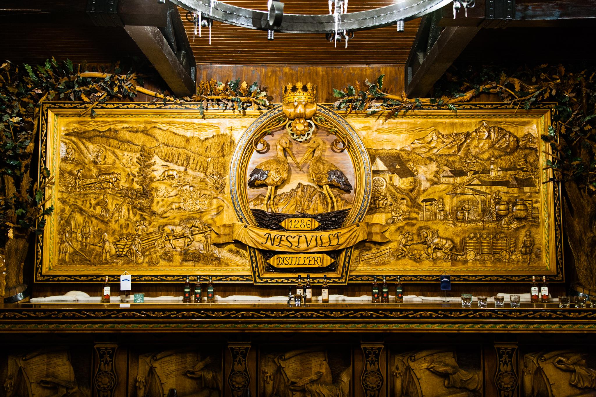 Das größte geschnitzte Bild in Europa.