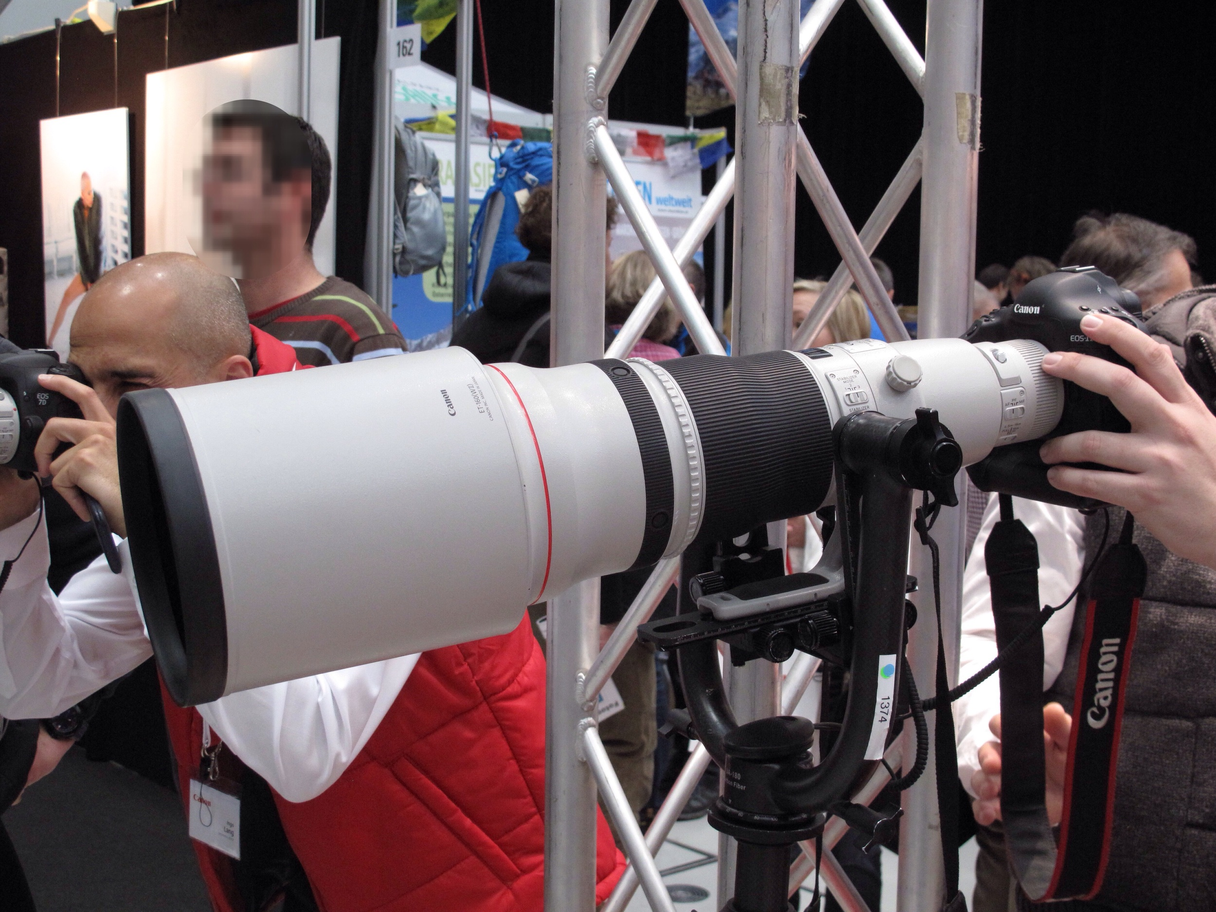Canon EF 600mm f/4 L IS USM II mit EOS 1Dx
