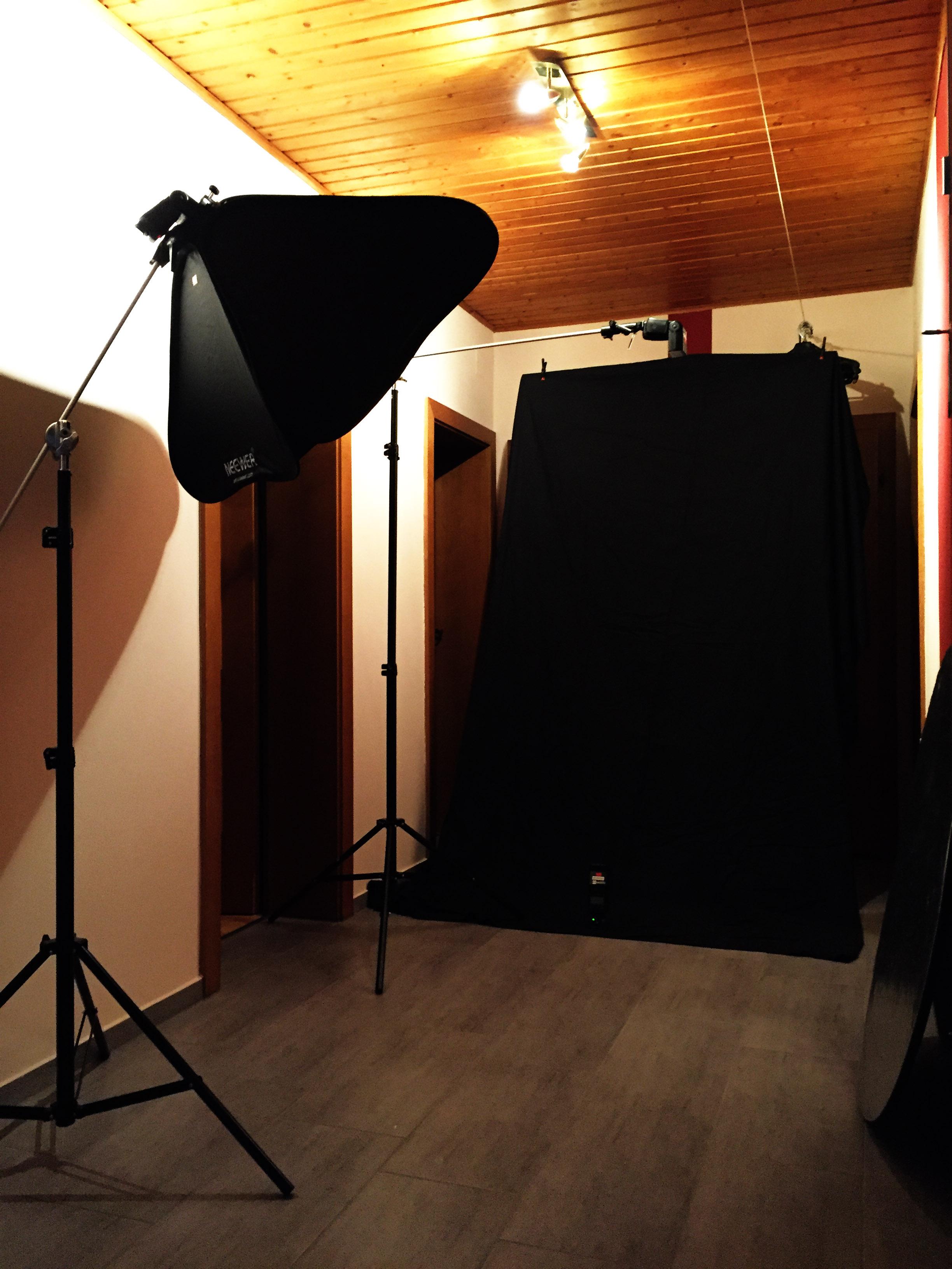 Hinter den Kulissen / Behind the scenes