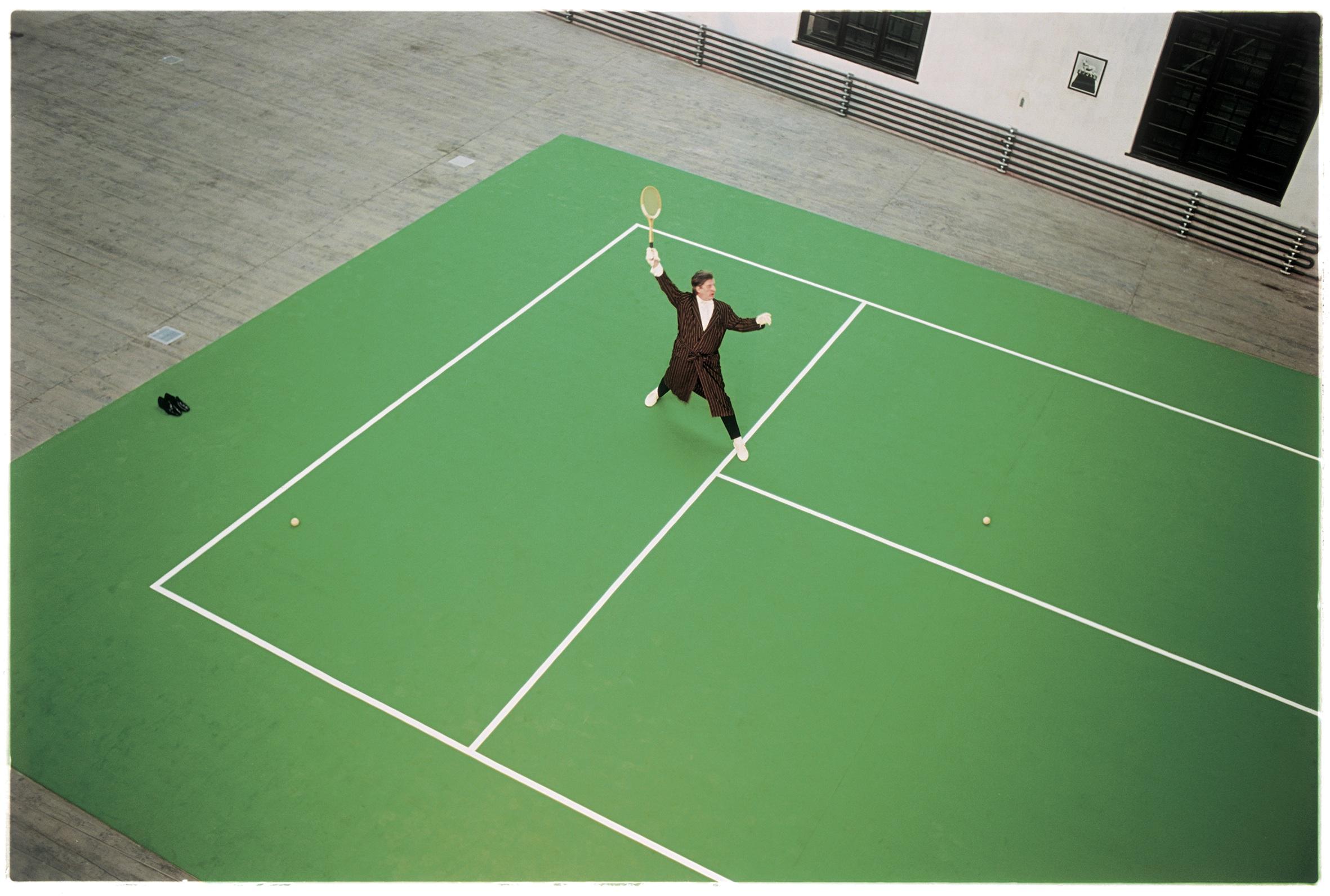 P. Dressler, Aus Tie Break, 1996 © Fotohof Archiv