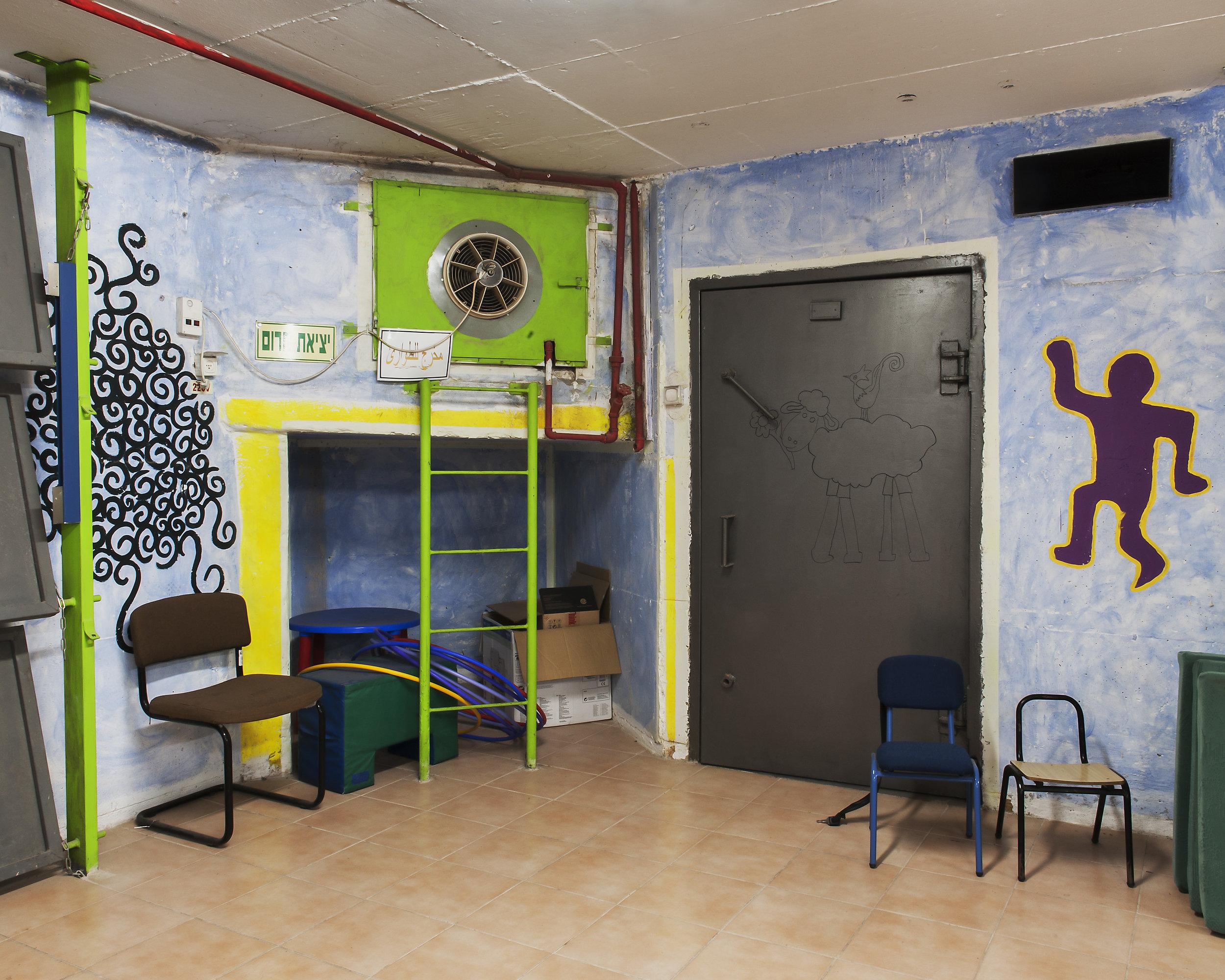 Bunker einer Grundschule © Adam Reynolds/Edition Lammerhuber
