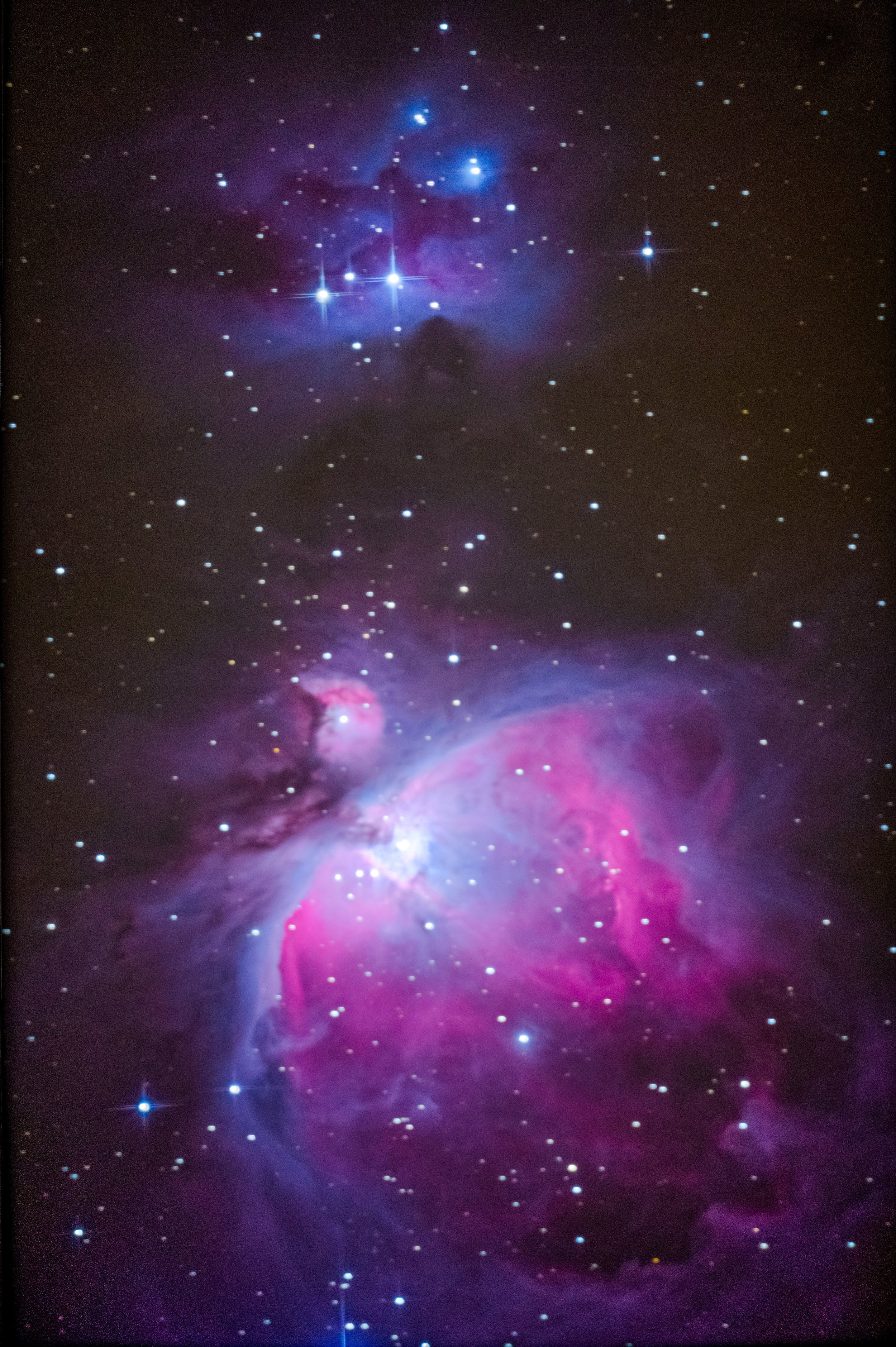 M42, Orion, Apetlon 2018