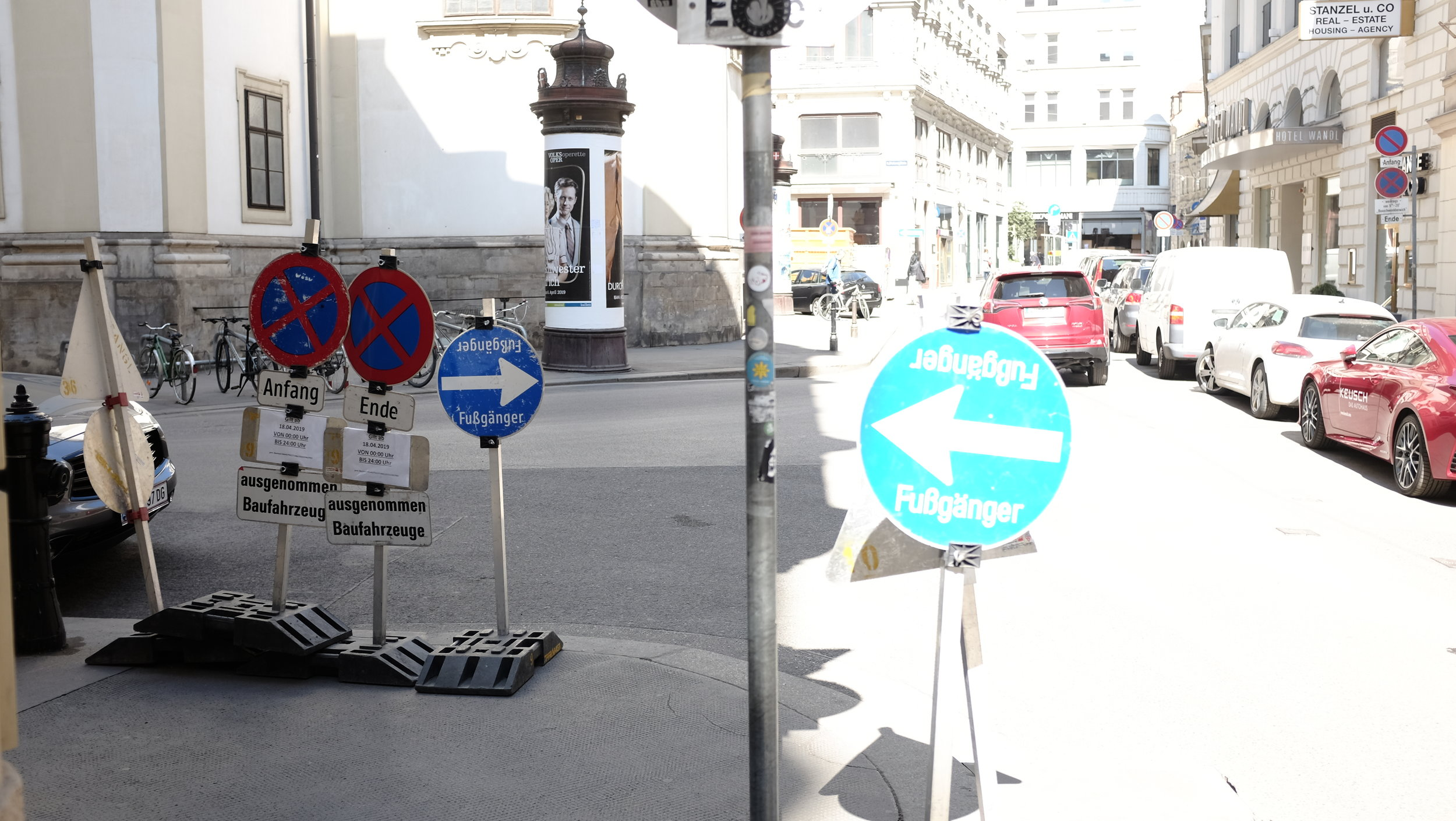 Confused, Wien 2019