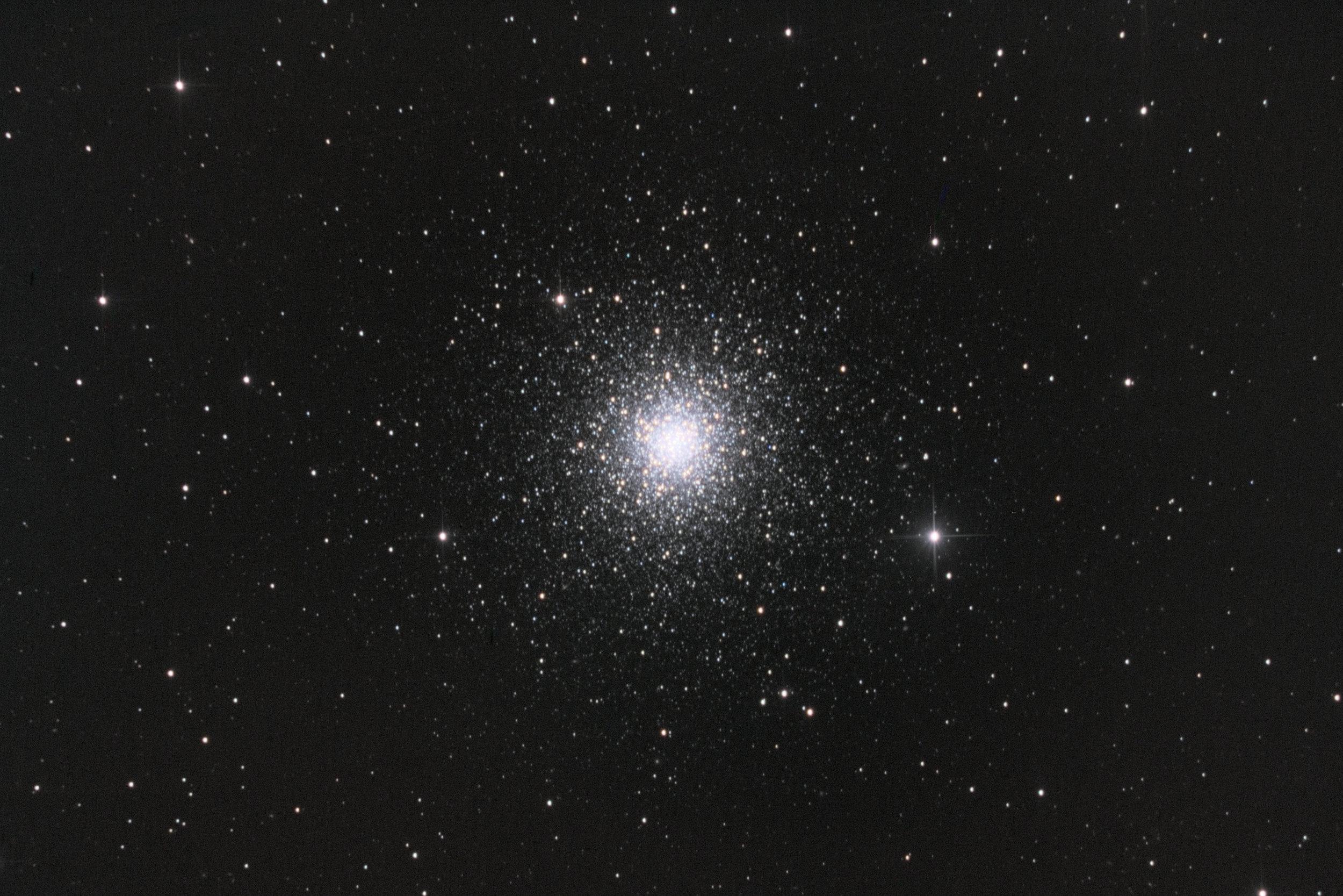 The one clear night in May - Die eine klare Nacht im Mai  globular Cluster M3 - Kugelsternhaufen M3