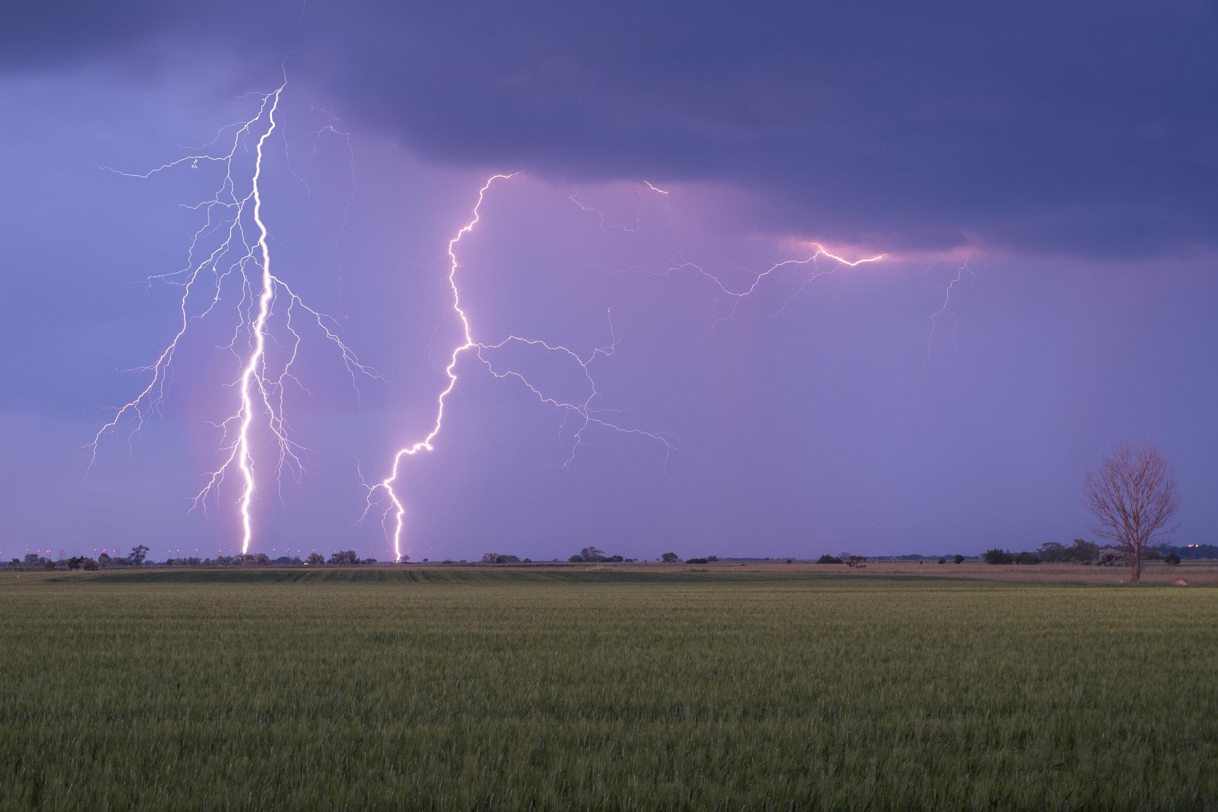 Wenn das Unwetter kommt…  The thunderstorm has arrived…