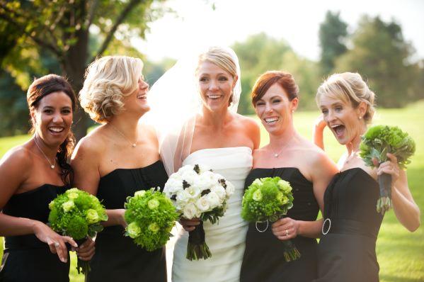 The Flower House Denver Green Bridesmaids Bouquets.jpg