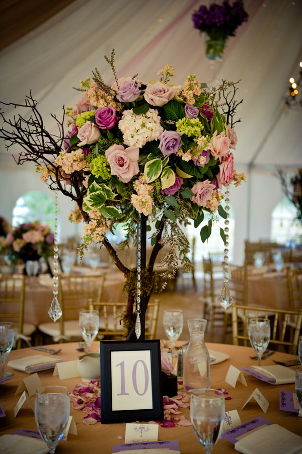 The Flower House - tall floral centerpiece.jpg