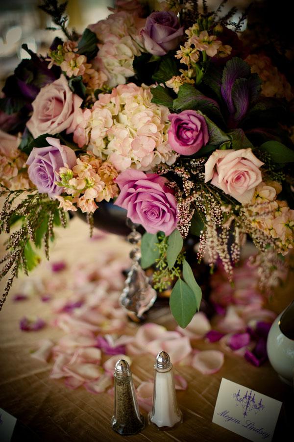 pink and lavender arrangement