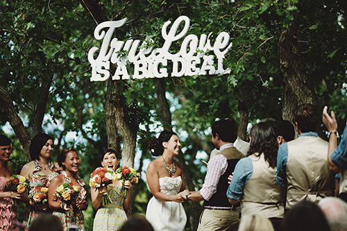 Featured on Once Wed - A Sweet Mountaintop Wedding