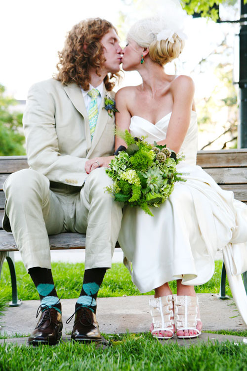 Featured on The Knot Magazine & Website - A Vintage Wedding in Denver, Colorado