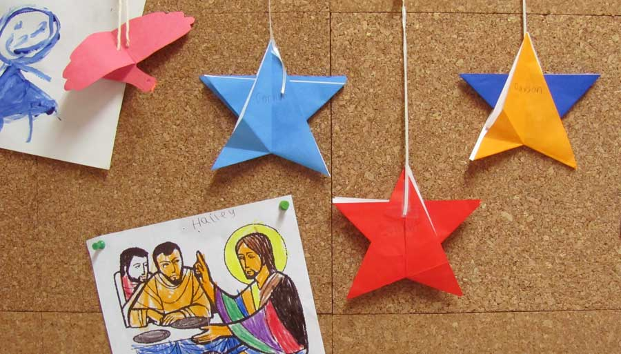 Projects created by St. John's Episcopal Church Sunday School.