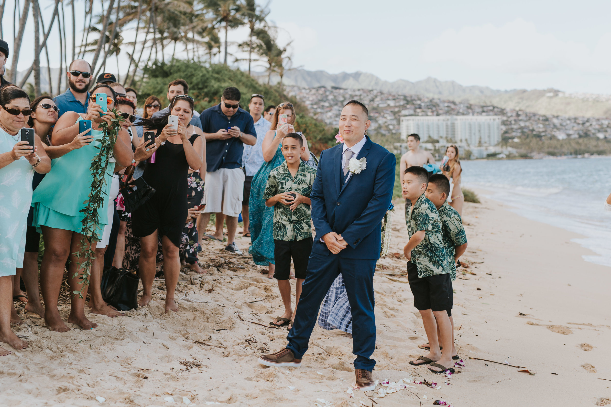 Hawaiian Wedding At Cafe Julia