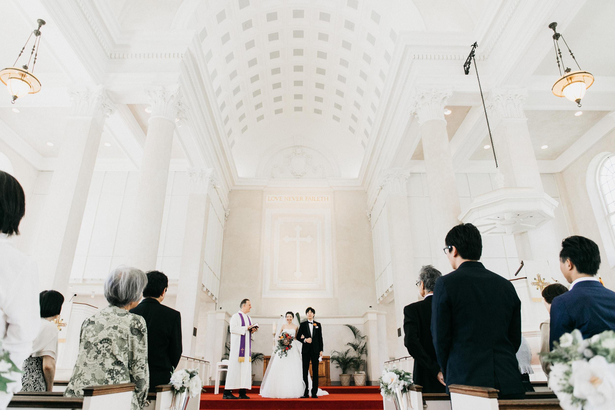 Classic Hawaii Wedding At Central Union Church