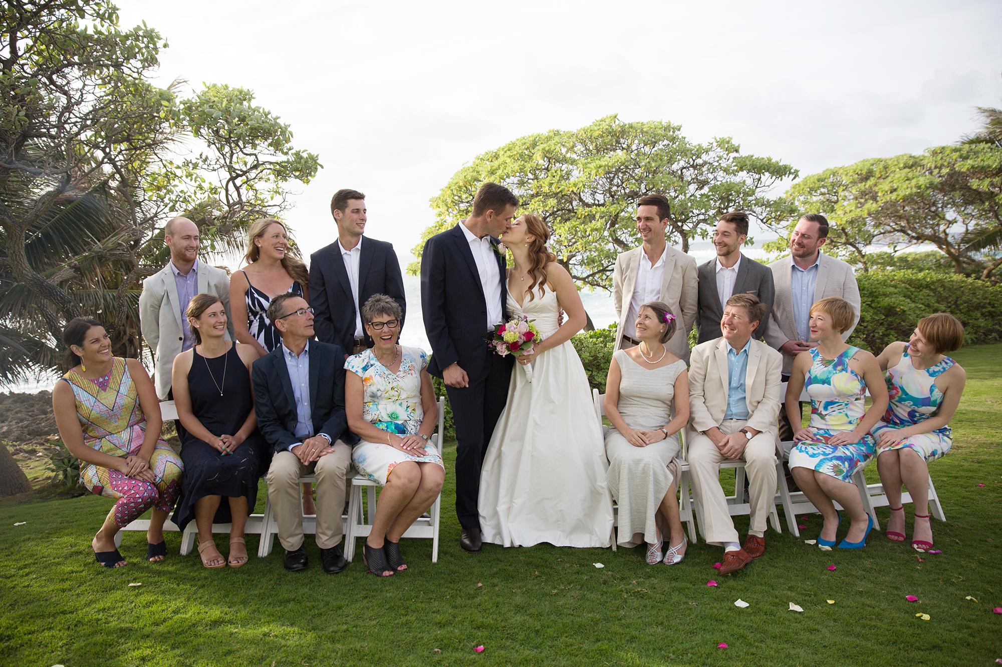 North Shore Hawaii Wedding At Turtle Bay